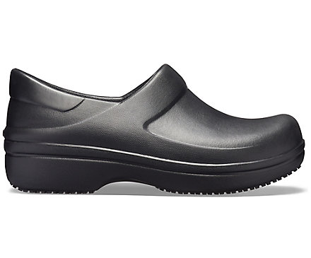 Crocs Women/'s Neria Clogs-Black