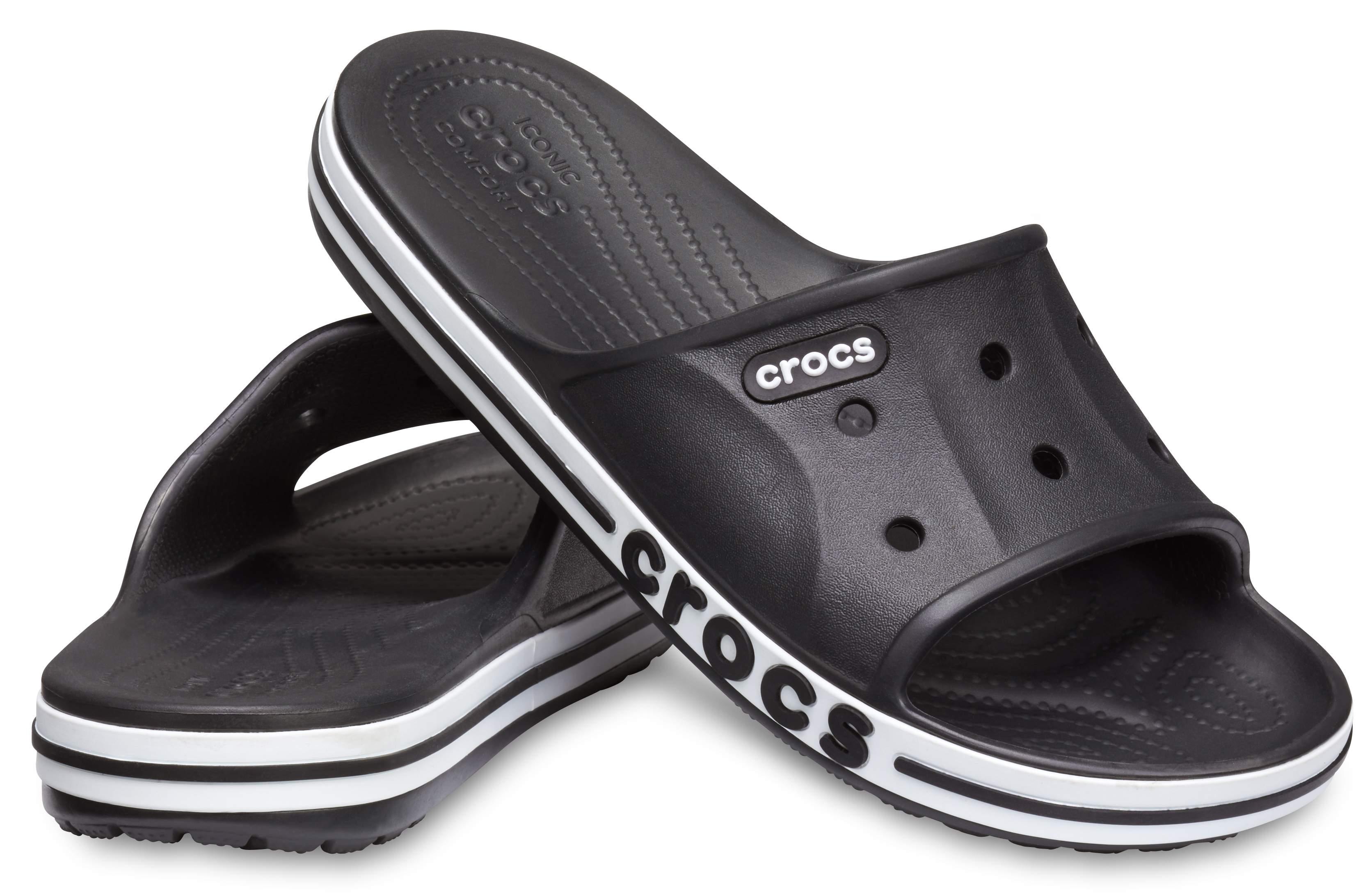 Image of Crocs Bayaband Slide Black 205392-066