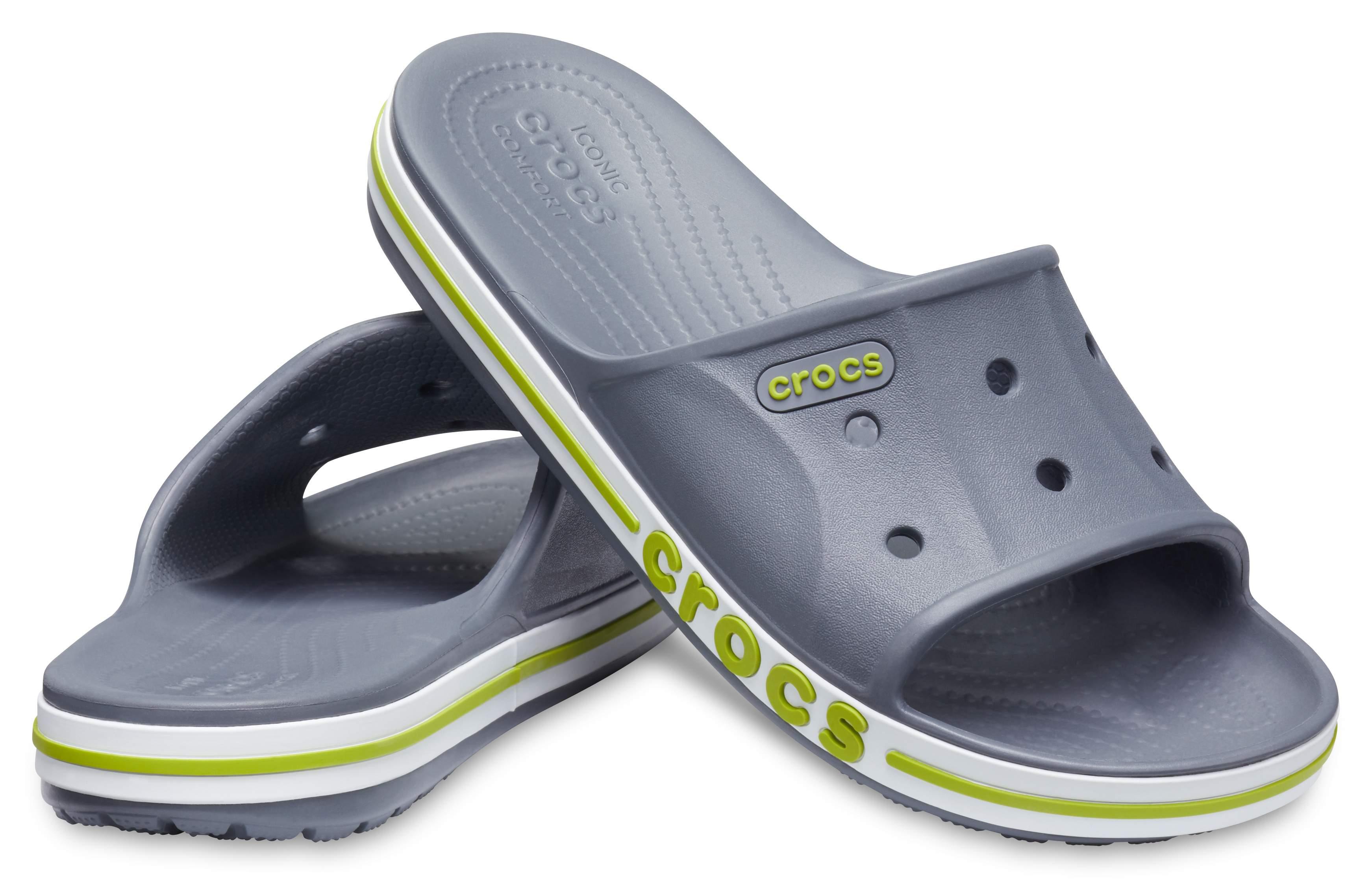 Image of Crocs Bayaband Slide Green 205392-0A3