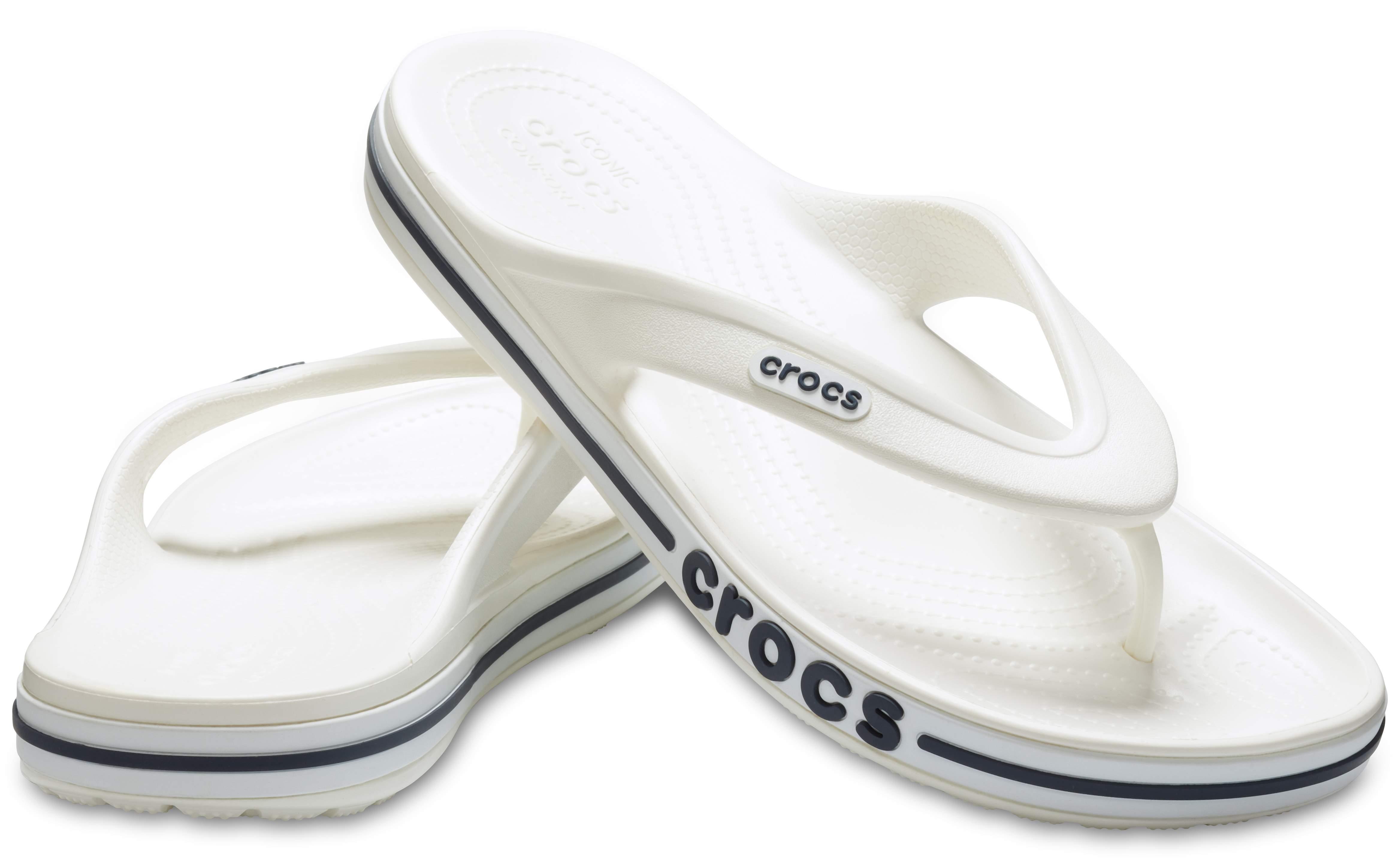 Image of Crocs Bayaband Flip White 205393-126