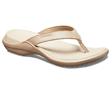 862dd8ee76f7b2 Women s Capri IV Flip - Crocs