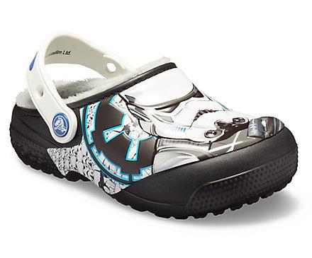 3a1379282b5da Kids  Crocs Fun Lab Lined Stormtrooper Clog - Crocs