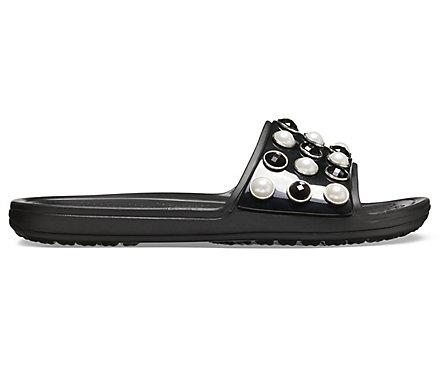 100f9da70 Women s Crocs Sloane Timeless Clash Pearls Slide - Crocs
