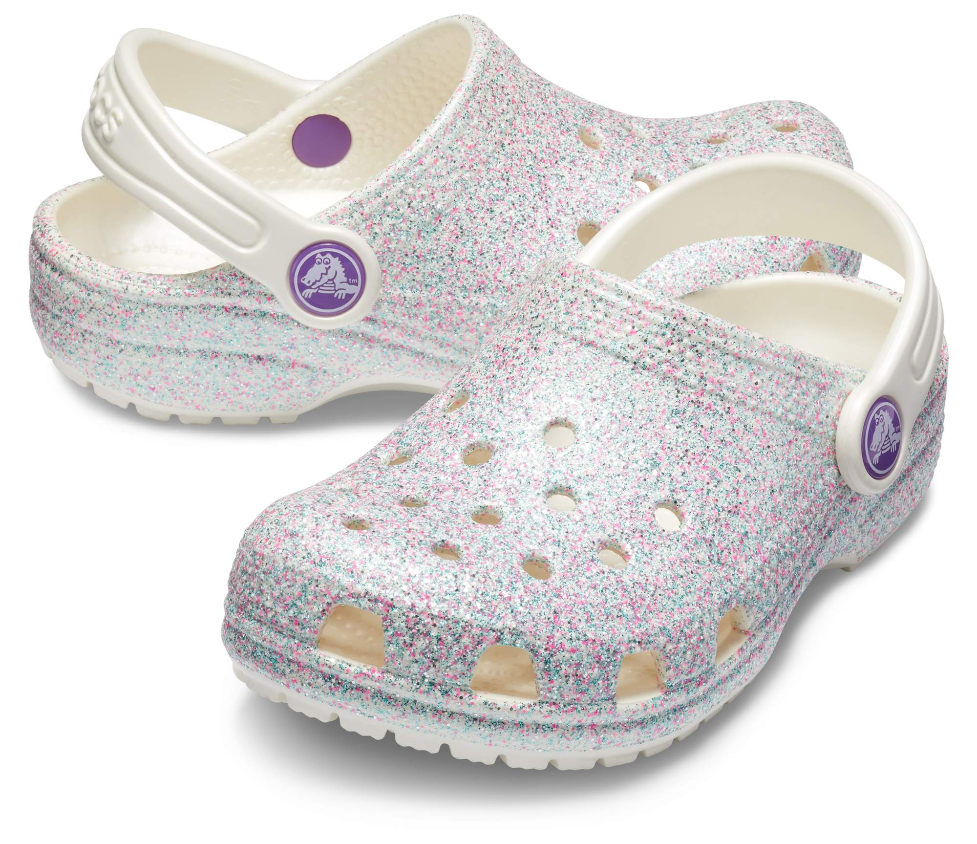 Sabots Femme Crocs Classic Glitter Clog K