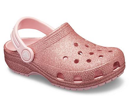 91185532a1c04f Kids  Classic Glitter Clog - Crocs