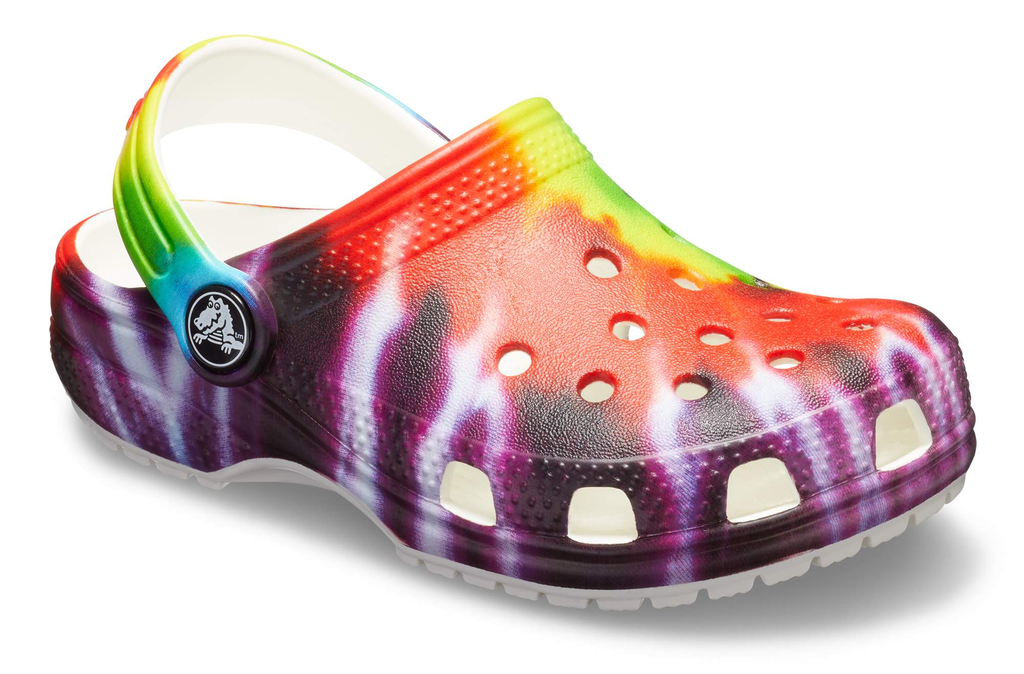 Unisex Cute Cartoon Comfortable Hole Shoes Anti Slip Water Shoes for Kids Girls Boys N//C Kids Tie Dye Clog