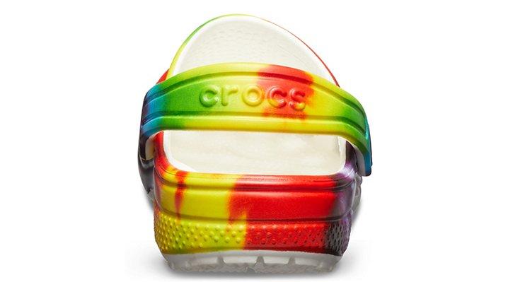 Crocs-Kids-Classic-Tie-Dye-Graphic-Clog thumbnail 12