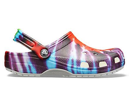 690b52e04d84 Classic Tie-Dye Graphic Clog - Crocs