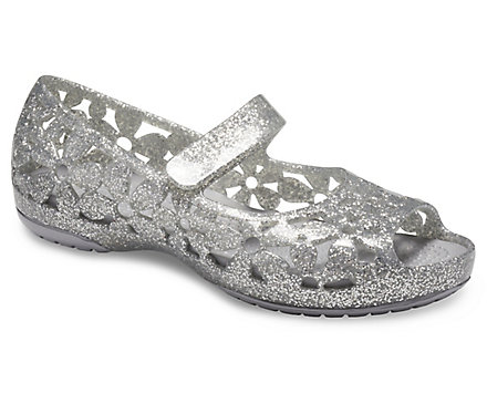 7e2c7104072a5 Kids' Crocs Isabella Flower Flat - Crocs
