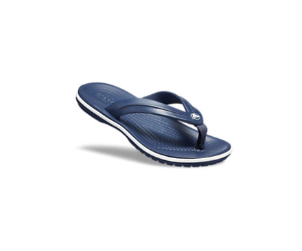 Kids Childrens Crocs Kids Crocband Flip GS Navy Sandal Flip Flop