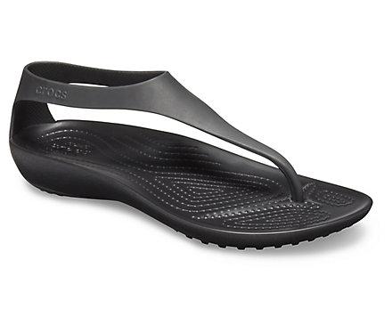 4082046105 Women's Crocs Serena Flip - Crocs