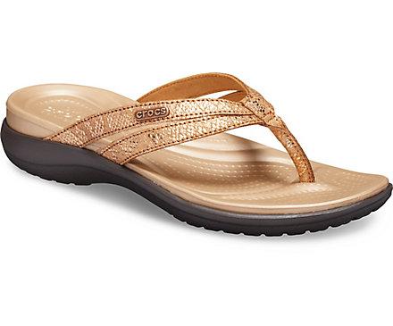a60504dece59 Women s Capri Strappy Flip - Crocs