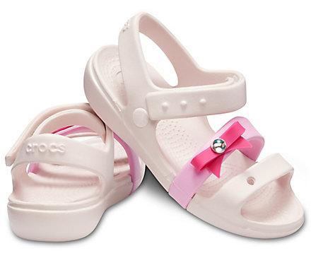 Kids  Keeley Charm Sandal - Crocs 67b3572306