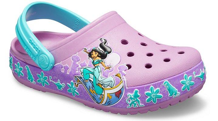 d69d9eec473b Crocs Kids Fun Lab Princess Jasmine Band Clog