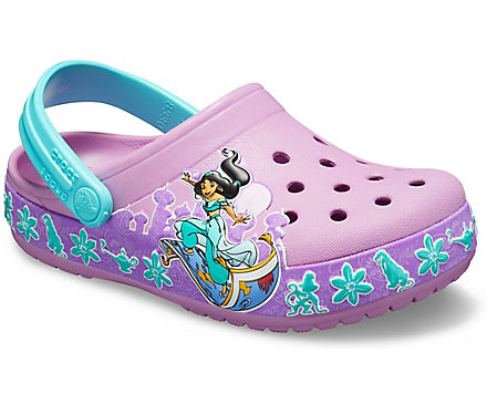 012a83b46 Kids  Crocs Fun Lab Princess Jasmine Band Clog - Crocs
