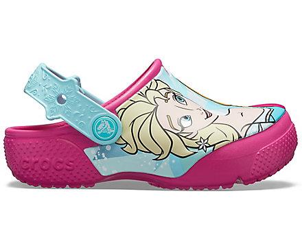 f22f0fe1652 Kids' Crocs Fun Lab Disney Frozen Anna & Elsa Clog - Crocs