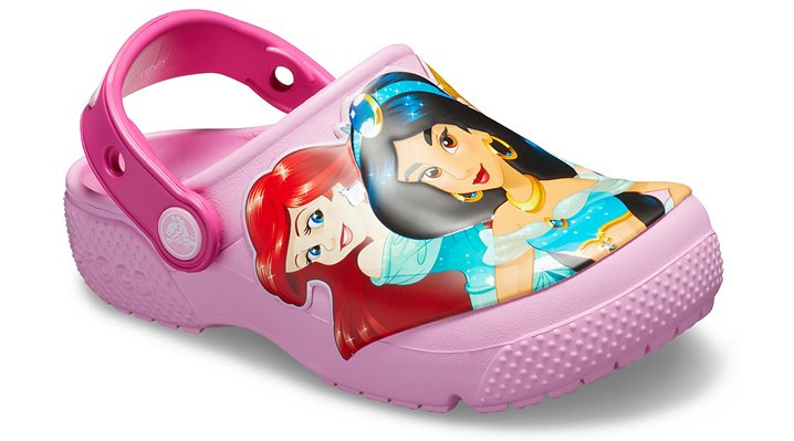 505de7b3a830cc Details about Crocs Kids Fun Lab Disney Multi-Princess Clog