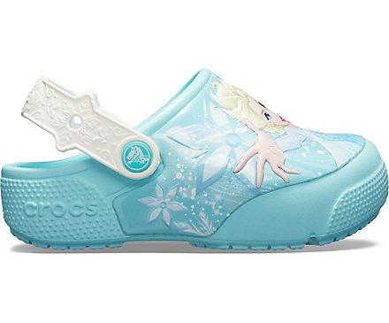 da212c28fd79c3 Kids  Crocs Fun Lab Frozen Elsa Lights Clog - Crocs