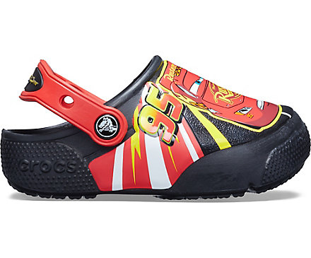 a6c9ba6ef15 Kids' Crocs Fun Lab Lightning McQueen Lights Clog - Crocs