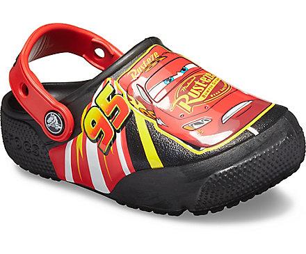 Kids Crocs Fun Lab Disney And Pixar Lightning Mcqueen