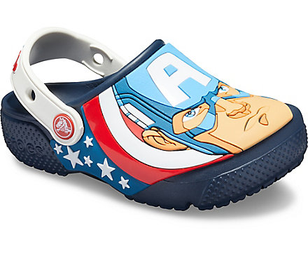 b81e1e0c609 Kids' Crocs Fun Lab Captain America Clog - Crocs