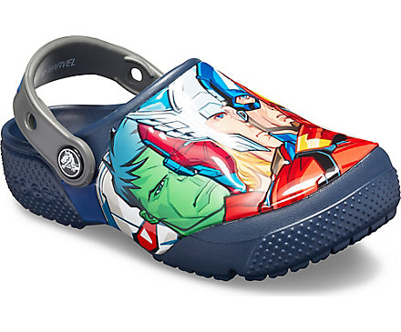 23fc22a309f3 Kids  Crocs Fun Lab Marvel Multi Clog - Crocs