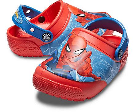 92360131f7ddd7 Kids  Crocs Fun Lab Spider-Man Lights Clog - Crocs