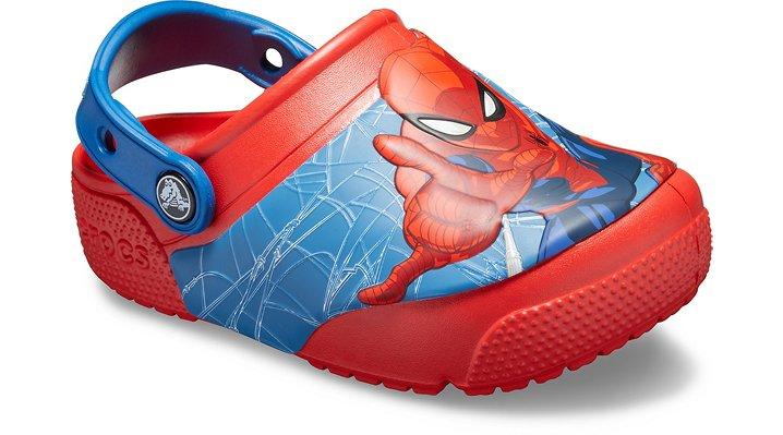 b16a2020f Crocs Kids Fun Lab Spider-Man Lights Clog