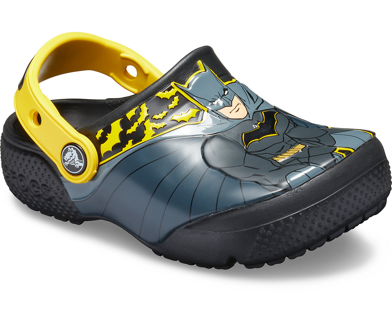 Crocs Kids' Fun Lab Iconic Batman Clogs