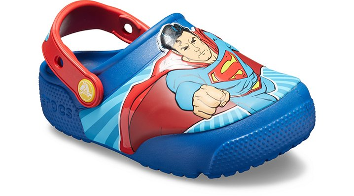 e9b9bdbaa76cd Crocs Kids Fun Lab Superman™ Lights Clog