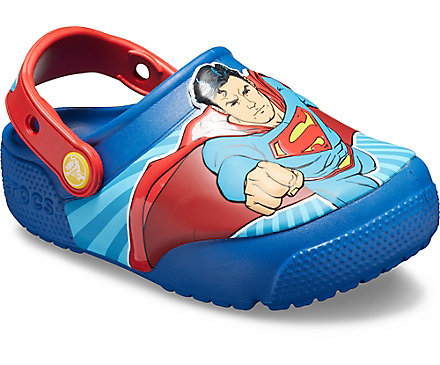 a61ecf665ffb9a Kids  Crocs Fun Lab Superman™ Lights Clog. review this product! previous  item‹