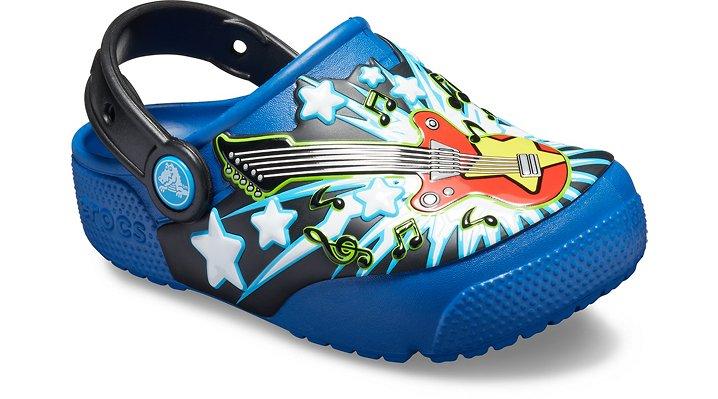 0b674cdc3 Crocs Kids Fun Lab Guitar Lights Clog