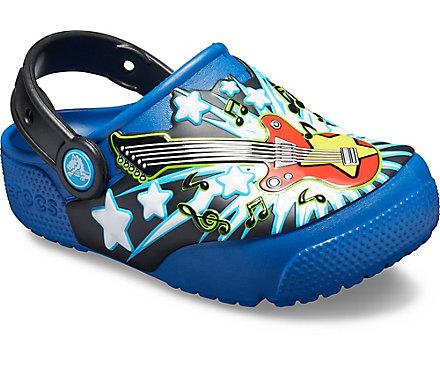 Kids' Crocs Fun Lab Guitar Lights Clog