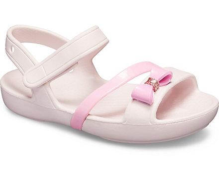2357b5deee0c Kids  Crocs Lina Charm Sandal - Crocs