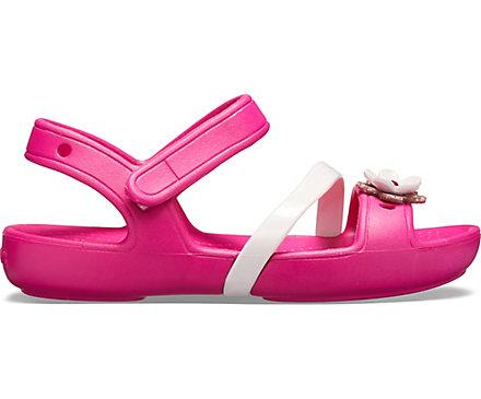 wyglądają dobrze wyprzedaż buty najlepiej autentyczne 2018 buty Kids' Crocs Lina Charm Sandal - Crocs