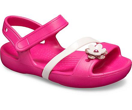 6d12f5f7a87a Kids  Crocs Lina Charm Sandal - Crocs