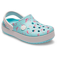 Deals on Corcs Kids Crocband Multi-Graphic Clog