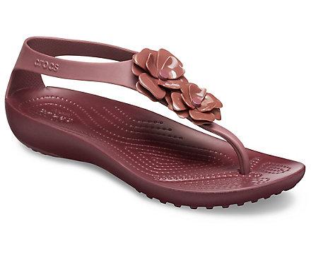 Women's Crocs Serena Embellished Flip