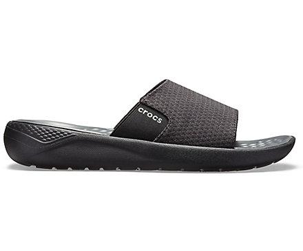 b11ce0465fce Men s LiteRide™ Mesh Slide - Crocs