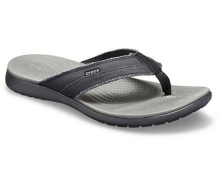 8da56358c50a Men s Santa Cruz Canvas Flip - Crocs