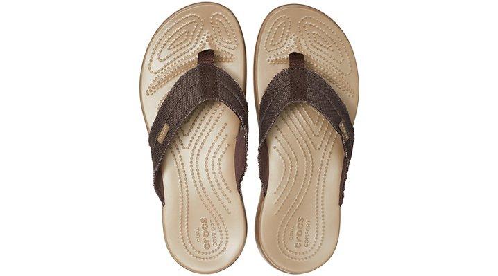 cd6293724d43 Crocs-Mens-Santa-Cruz-Canvas-Flip thumbnail 16