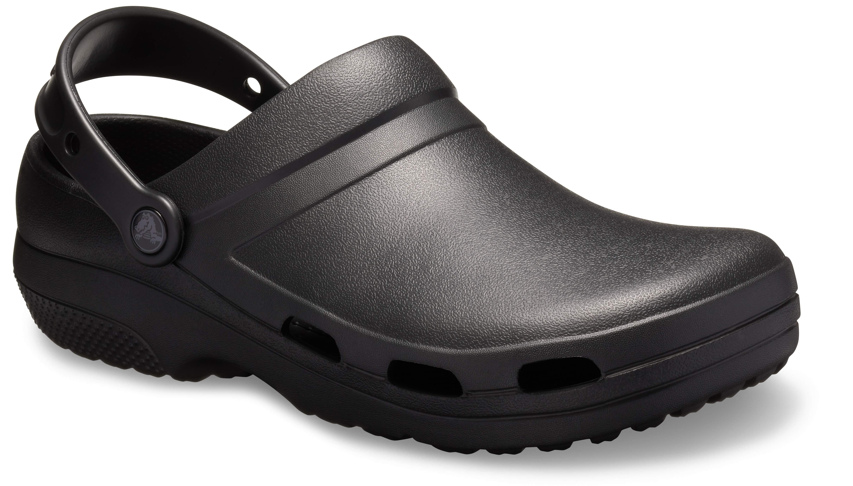 Crocs 205619 SPECIALIST II VENT CLOG Unisex Mens Ladies Work Clogs Black