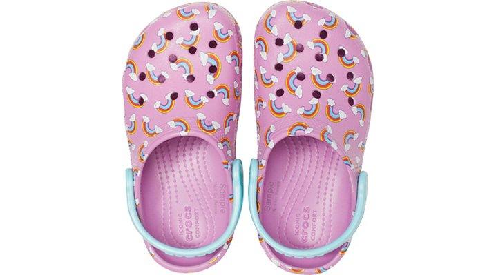 Crocs-Kids-Classic-Seasonal-Graphic-Clog thumbnail 22