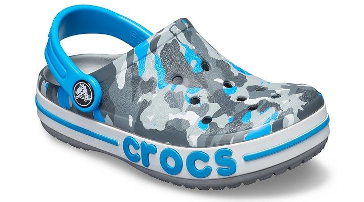 0391ce0096169a Details about Crocs Kids Bayaband Seasonal Graphic Clog