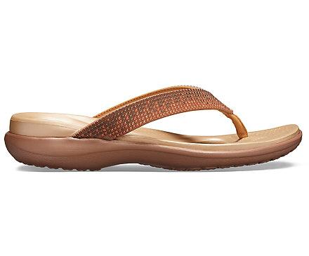 2ebbaaf652d0 Women s Capri V Diamante Flip - Crocs