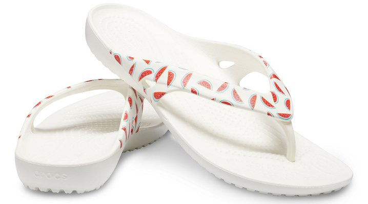 Crocs-Womens-Kadee-II-Seasonal-Graphic-Flip thumbnail 27