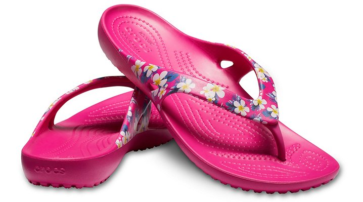 Crocs-Womens-Kadee-II-Seasonal-Graphic-Flip thumbnail 15
