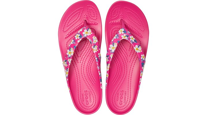 Crocs-Womens-Kadee-II-Seasonal-Graphic-Flip thumbnail 16