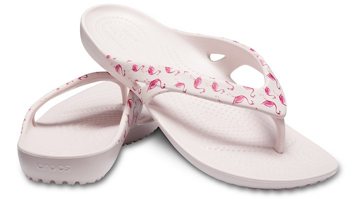 Crocs-Womens-Kadee-II-Seasonal-Graphic-Flip thumbnail 33