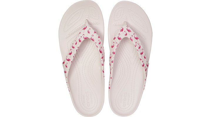 Crocs-Womens-Kadee-II-Seasonal-Graphic-Flip thumbnail 34
